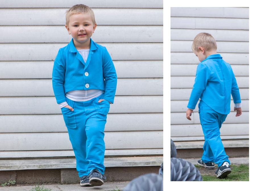 Berniuko rūbų fotosesija