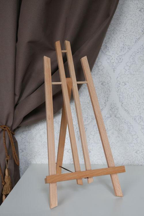 mini medinis molbertas - dekoracijų nuoma