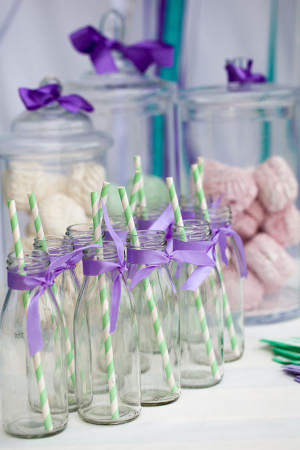 Saldaus stalo dekoras - megaitiškas gimtadienis