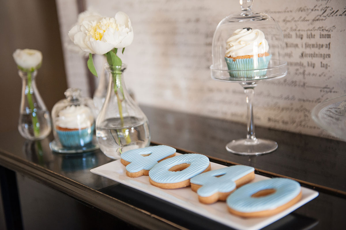 dekoruoti sausainiai skaičiai 40