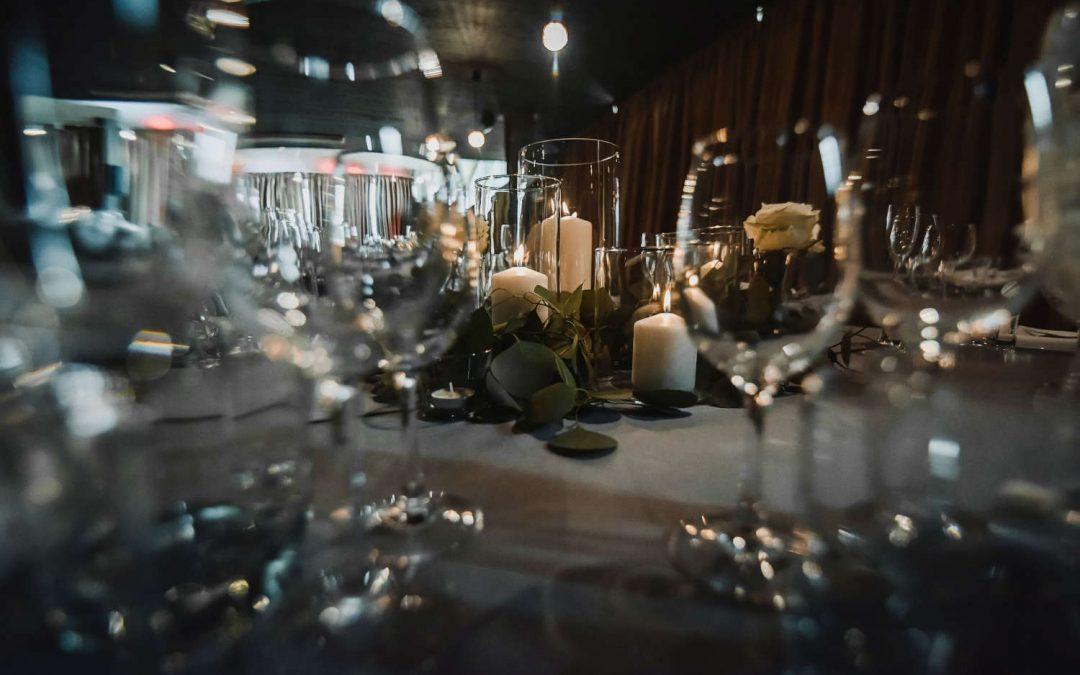 Vestuvių stalo dekoras - foto Agata Studio