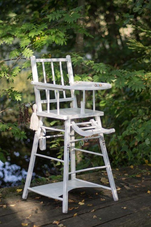 Kūdikio maitinimo kėdutė - Asta Deco - baldų nuoma vestuvėms
