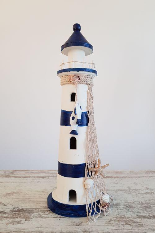 Švyturys - dekoracija - dekoro elementas jūrine tema - Asta Deco