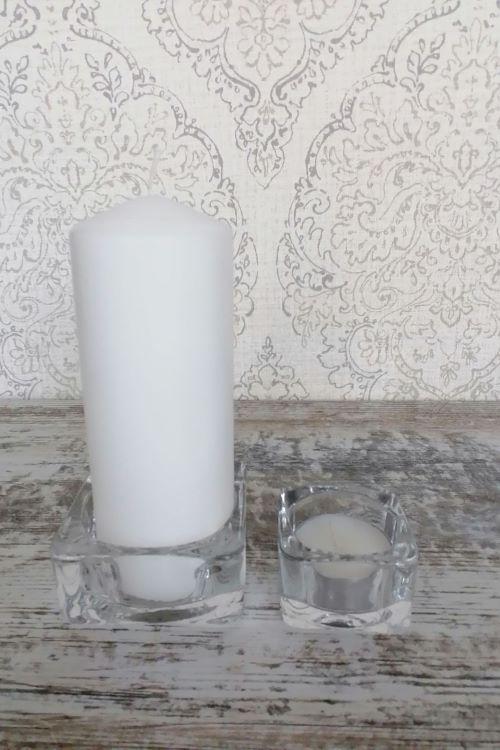 Žvakių padėkliukai nuoma vestuvėms krikštynoms - Asta Deco